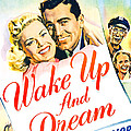 Wake Up And Dream, Us Poster, From Left Print by Everett