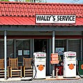 Wally's Service Station Mayberry NC Poster by Bob Pardue