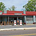 Wallys Service Station Mt. Airy NC Poster by Bob Pardue