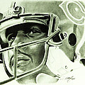 Walter Payton Print by Don Medina