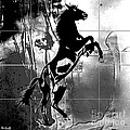 War horse Print by Roby Marelly