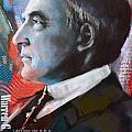 Warren G. Harding Print by Corporate Art Task Force
