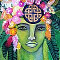 Warrior Goddess Print by Tracie Hanson