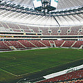 Warsaw Stadion Print by Pati Photography