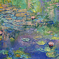 Water Garden Print by Michael Creese