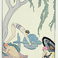 Water Poster by Georges Barbier