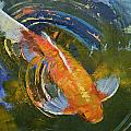 Water Ripples Print by Michael Creese