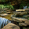 Waterfall Print by Tom Mc Nemar