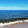 Waves in Motion Print by Michelle Calkins