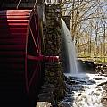 Wayside Grist Mill 2 Print by Dennis Coates