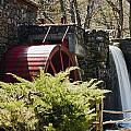 Wayside Grist Mill 3 Poster by Dennis Coates