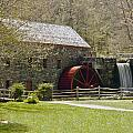 Wayside Grist Mill 6 Print by Dennis Coates