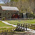 Wayside Grist Mill 8 Poster by Dennis Coates