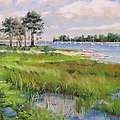 Wentworth By The Sea Print by Laura Lee Zanghetti