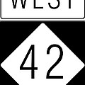 West NC 42 Poster by Paulette B Wright