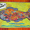 What's For Dinner Print by Susan Rienzo