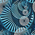 Wheel In The Sky 1 Poster by Angelina Vick