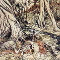 Where often you and I upon fain Primrose beds were wont to lie Poster by Arthur Rackham