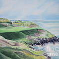 Whistling Straits 7th Hole Print by Deborah Ronglien