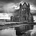 Whitby Abbey Poster by Ian Barber