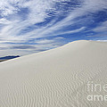 White Sands National Monument Big Dune Print by Bob Christopher
