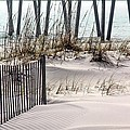 White Sands of Pensacola Beach Print by JC Findley