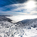 Whitefish Inversion Print by Aaron Aldrich