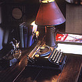 Will Rogers Desk Poster by Paul W Faust -  Impressions of Light