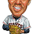 Willie Mays Poster by Art