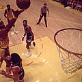 Wilt Chamberlain Finger Roll  Print by Retro Images Archive