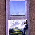 Window of Dreams Poster by Jerry LoFaro