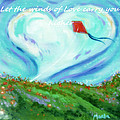 Winds Of The Heart Print by MarLa Hoover