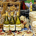 Wine and Cheese Print by Douglas J Fisher