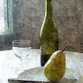 Wine and Pear Print by Karyn Robinson