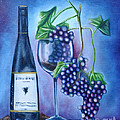 Wine Dance Print by Ruben  Archuleta