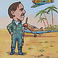 Wing Cdr.Clive Caldwell Poster by Murray McLeod