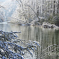 Winter along Williams River Poster by Thomas R Fletcher