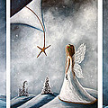 Winter Fairies by Shawna Erback Poster by Shawna Erback
