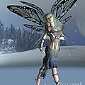 Winter Frost Fairy Poster by Fairy Fantasies