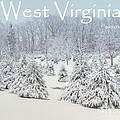 Winter in West Virginia Poster by Benanne Stiens