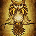 Wise Owl Poster by Brenda Bryant
