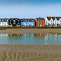 Wivenhoe waterfront Poster by Gary Eason