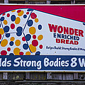 Wonder Bread Sign Poster by Garry Gay
