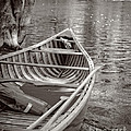 Wooden Canoe Print by Edward Fielding