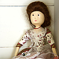 Wooden Doll Poster by Margie Hurwich