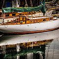 Wooden Sailboat Print by Puget  Exposure