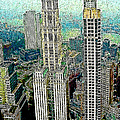 Woolworth Building New York City 20130427 Print by Wingsdomain Art and Photography