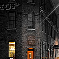 Working Late Poster by Frozen in Time Fine Art Photography