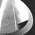 World Trade Center Two NYC Poster by Steven Huszar
