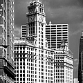 Wrigley Building Chicago Illinois Poster by Christine Till